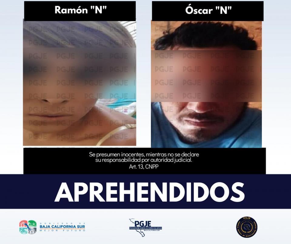 """La Nina"" y ""El Gordo"" detenidos en Tijuana"