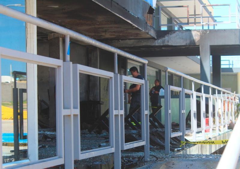 Explosión en Plaza de CSL p