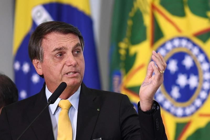 Presidente de Brasil Bolsonaro