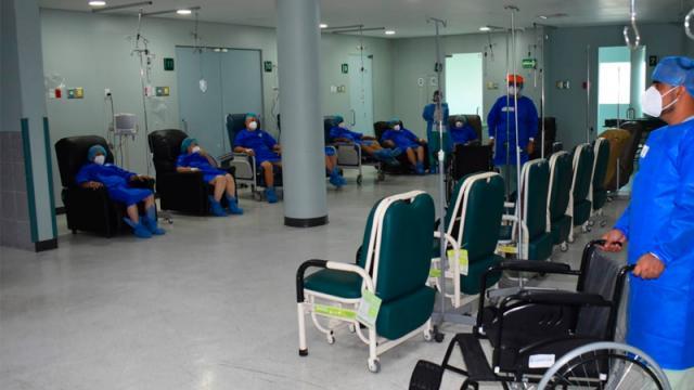 Pacientes con cataratas