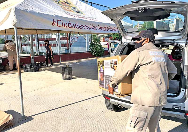 Reciclan más de 45 toneladas de materiales en Los Cabos