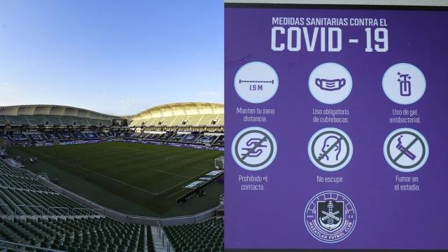 Estadio en Mazatlán