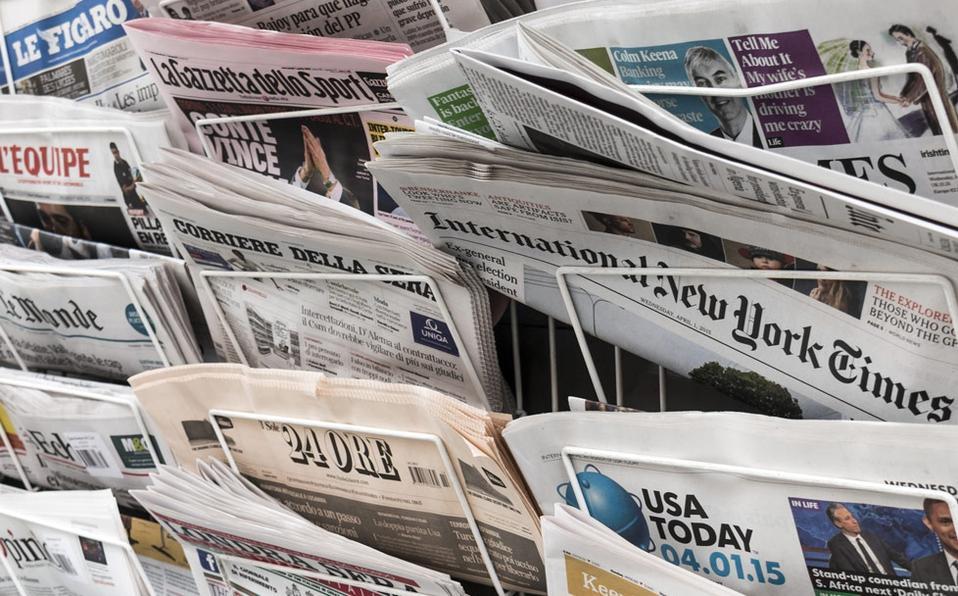 Medios periodísticos estadounidenses en China