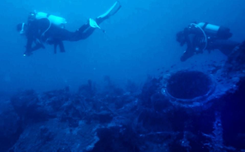 Submarino perdido de la Primera Guerra Mundial