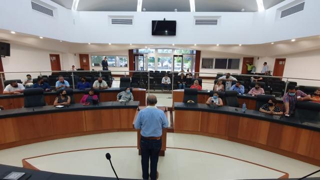Suspenden sesiones hasta el 27 de octubre