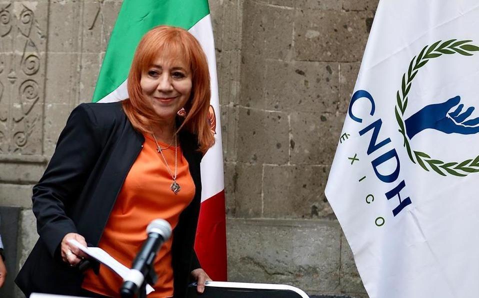 Rosario Piedra Ibarra titular de la CNDH