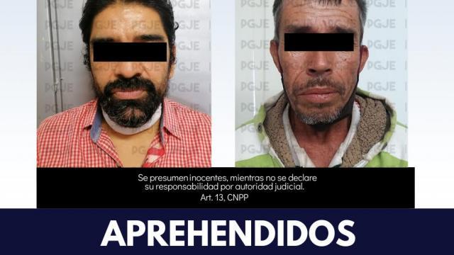 Dos sujetos son aprehendidos en La Paz