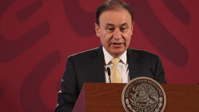 Alfonso Durazo en rueda de prensa