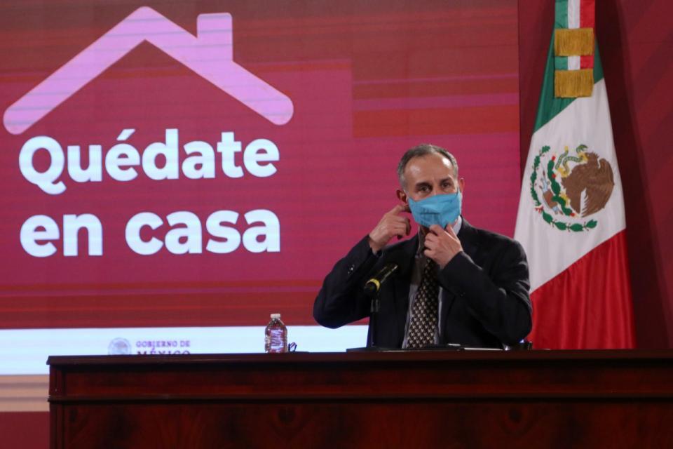 Conferencia de prensa desde Palacio Nacional 22/10/20