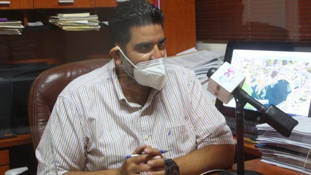 Alejandro Arechiga de la Peña director de Catastro