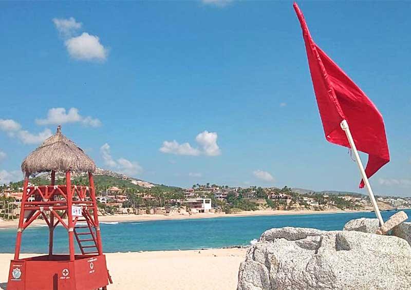 ¡No te arriesgues en la playa! conoce el significado de banderas