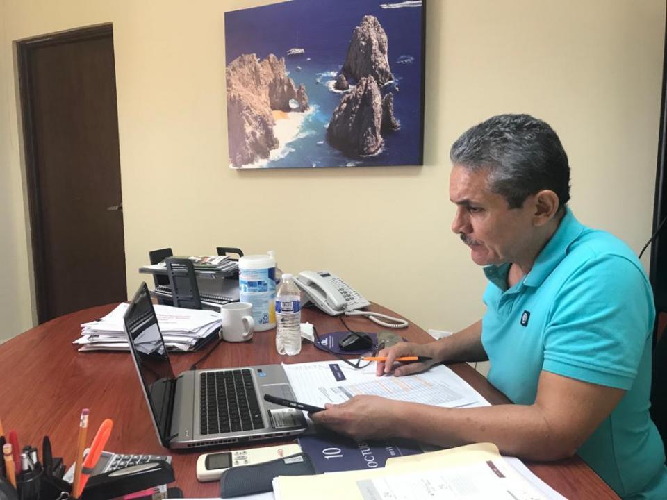 Julio Castillo, presidente ejecutivo del Consejo Coordinador de Los Cabos