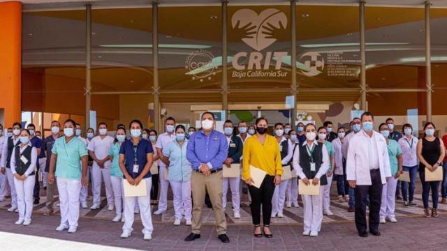 Médicos del IMSS en La Paz