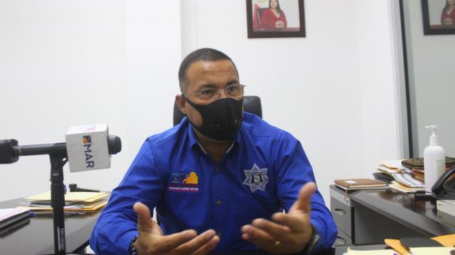 Juan José Zamorano Martínez, director Seguridad Pública
