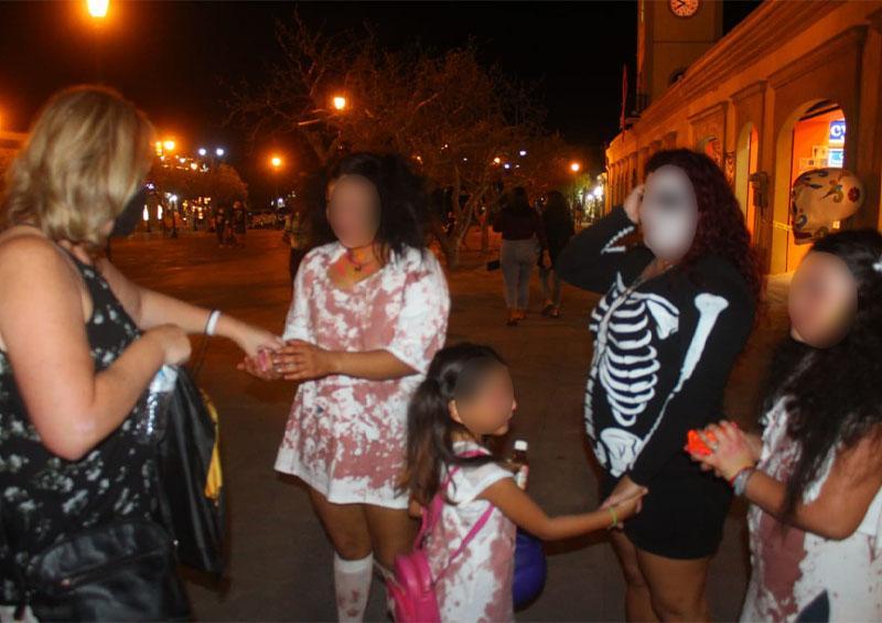 Festejan Halloween pese a restricciones