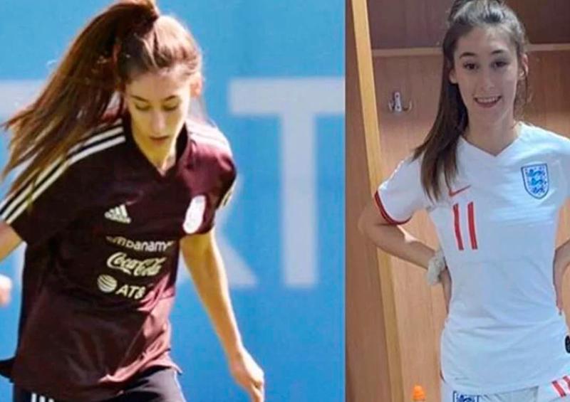 La futbolista mexicana que juega para la selección de Inglaterra