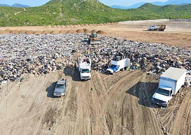 Retiran a la semana más de 2 mil toneladas de basura doméstica