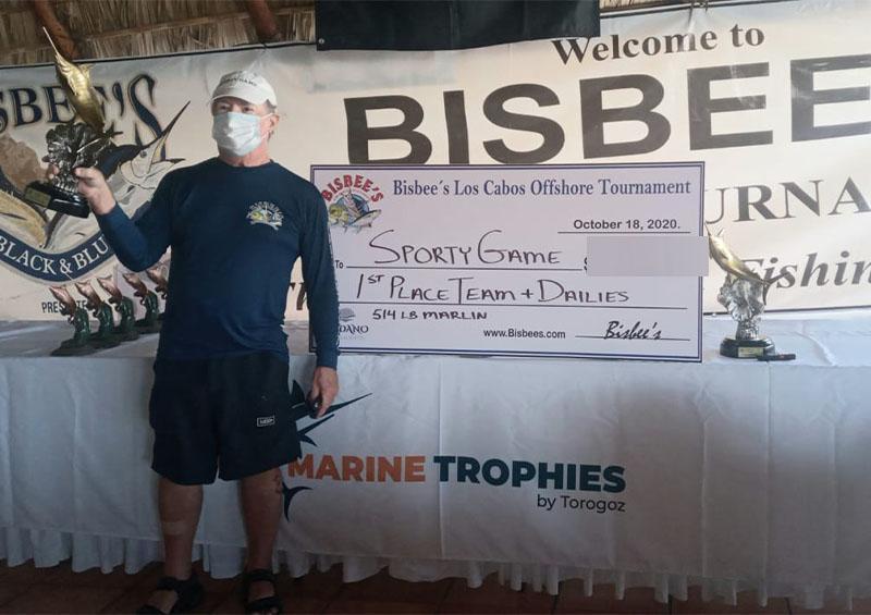 Ganador del Torneo Bisbee's Offshore