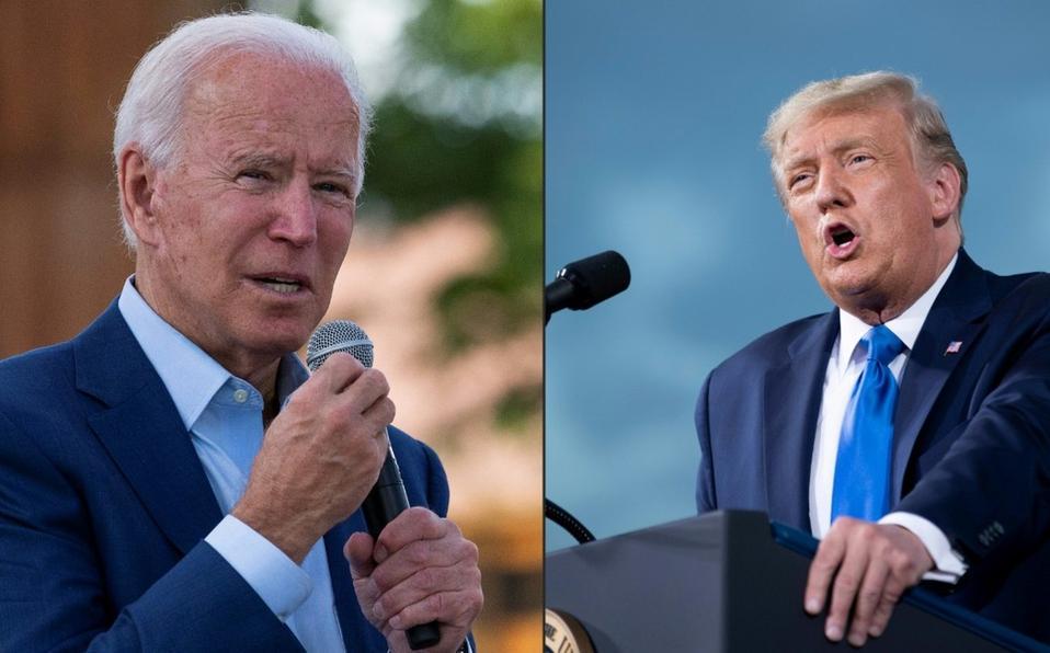 Joe Biden y Donlad Trump en elecciones presidenciales