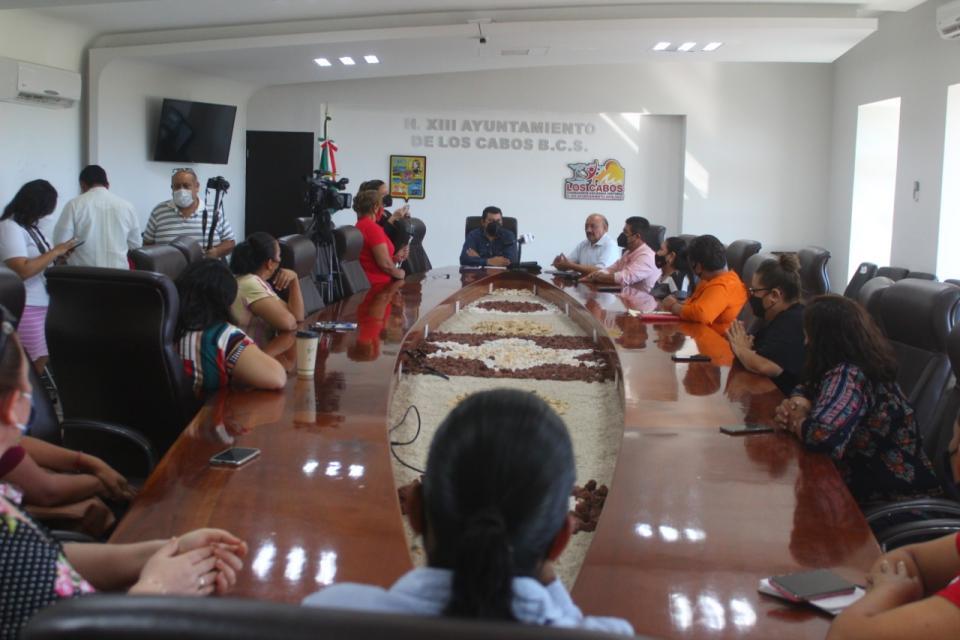 Reunión diputados con monitoras trabajadoras de la educación 05-10-20