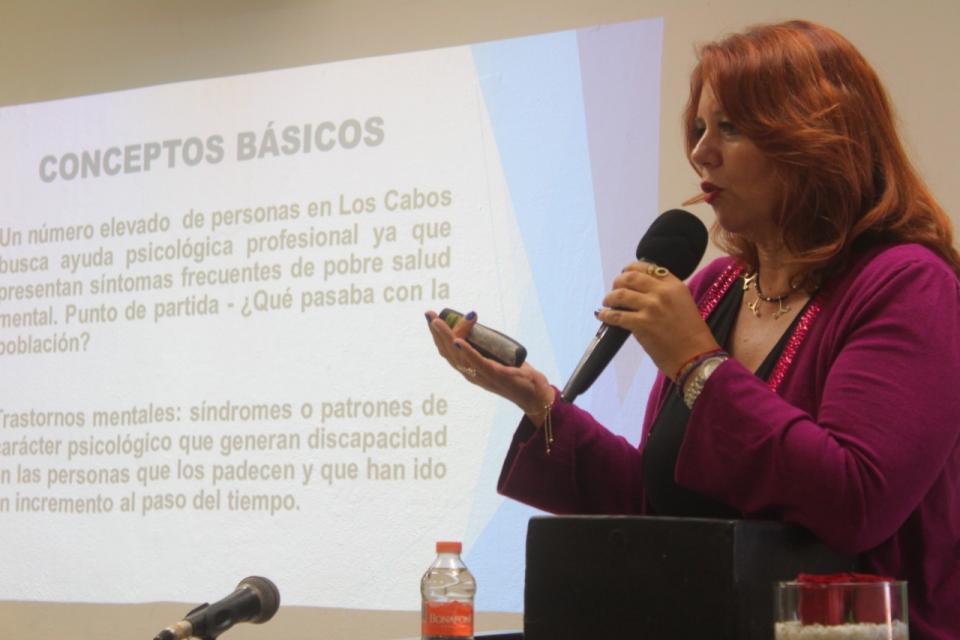 Claudia Pastrana Orellana, Vicepresidenta del Colegio de Psicólogos Capítulo Los Cabos