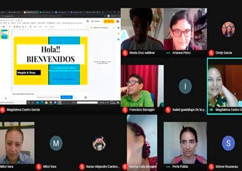 Capacita UABCS Los Cabos a talleristas del Instituto de Cultura y las Artes del Gobierno Municipal