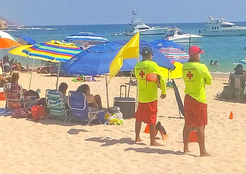 Garantizan presencia de guardavidas en playas certificadas