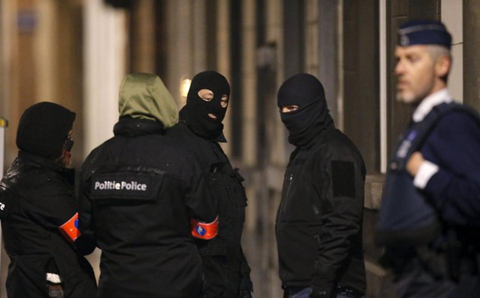 Policía en Bélgica