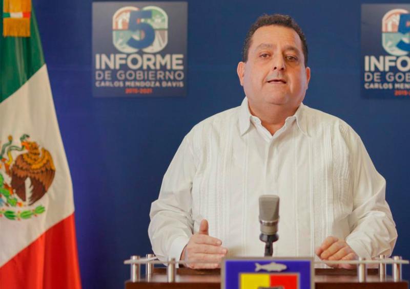 CMD destaca acciones contra Covid-19 en su 5to Informe de gobierno