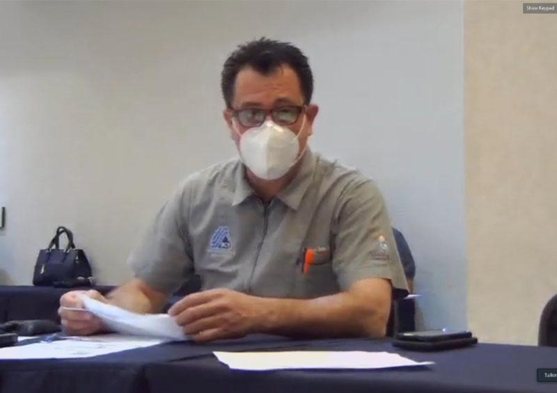 Heriberto Soto Haro, director de Servicios de Salud de la Secretaría de Salud