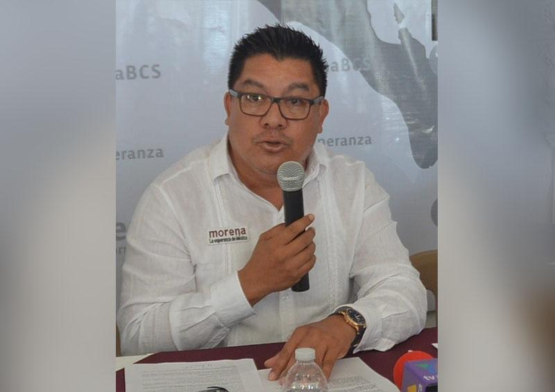 Líder estatal de Morena, Alberto Rentería