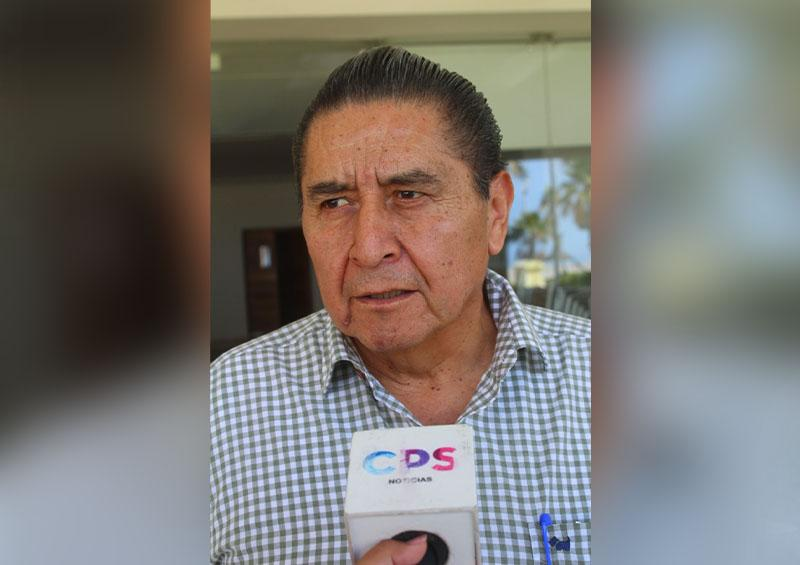 Esteban Vargas Juárez, secretario general de la CROC en BCS