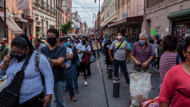 Confinamiento México