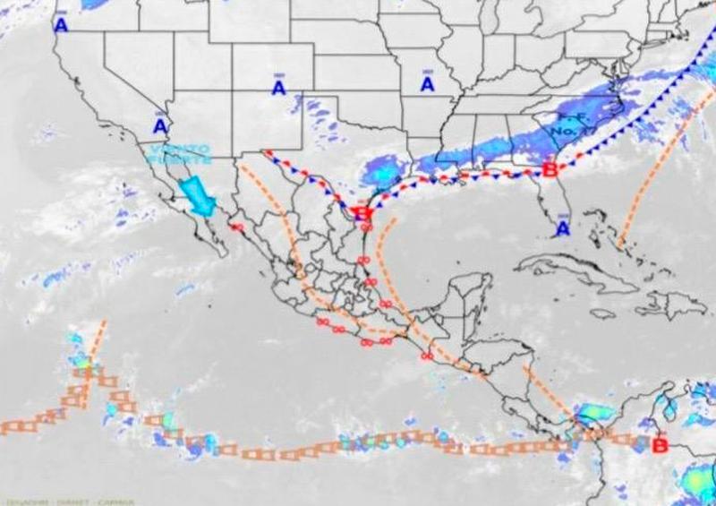 apitanía de Puerto reporta fuertes rachas de viento y alta marejada