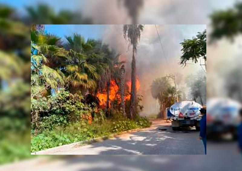Incendio Todos Santos