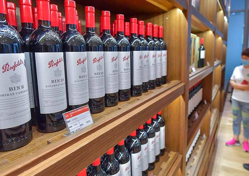 China impone medidas antidumping al vino australiano