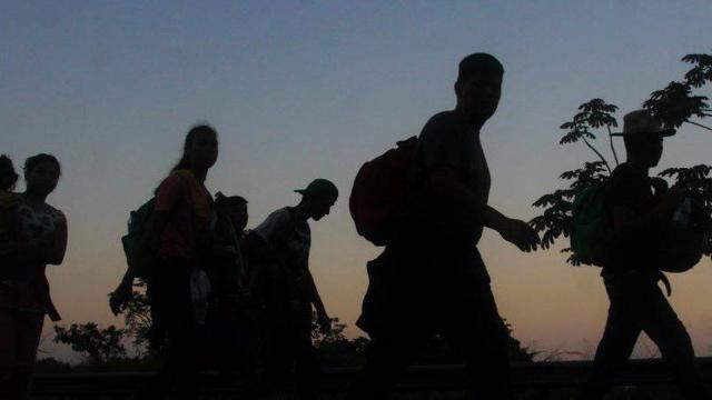 Migrantes rescatados en Veracruz