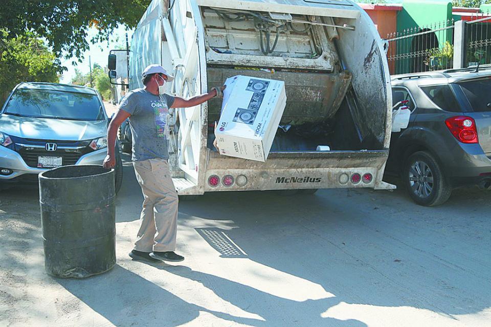 Mantienen eficiencia en la recolección de basura en Los Cabos