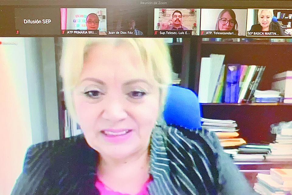 Participa BCS en fase dos del coloquio educativo virtual