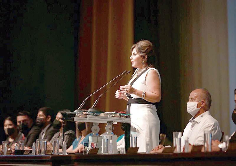 Rinde alcaldesa Armida Castro Guzmán su 2º Informe de Gobierno