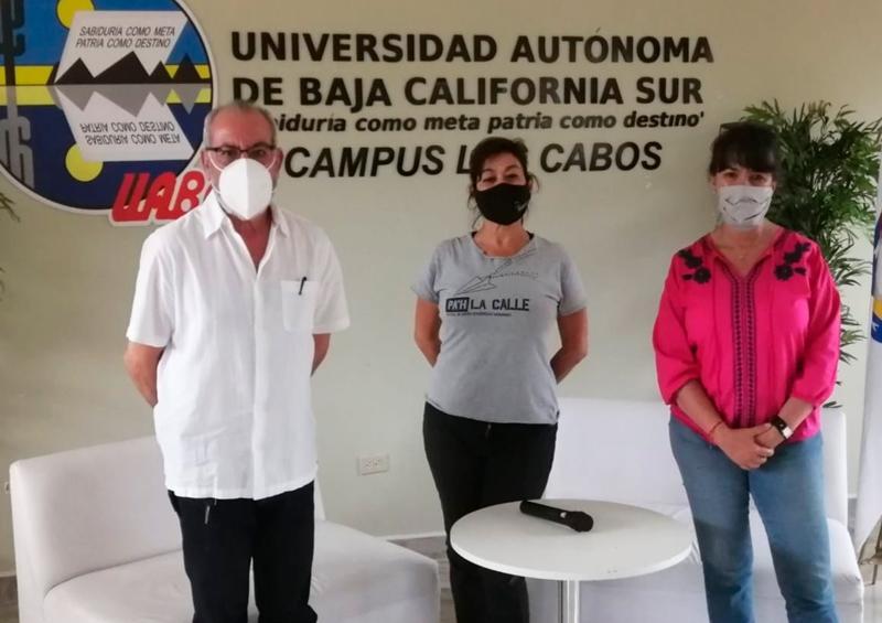 """Por tercer año, UABCS Los Cabos se suma a actividades del festival cultural """"Pa´La Calle"""""""