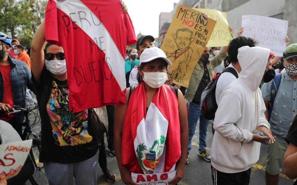 Perú protesta