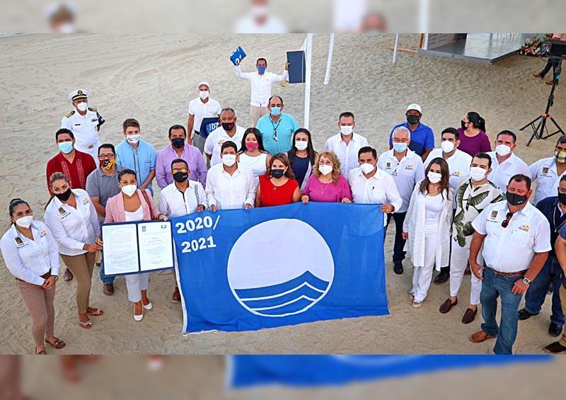 Los Cabos, líder a nivel nacional por sus 22 Playas Blue Flag
