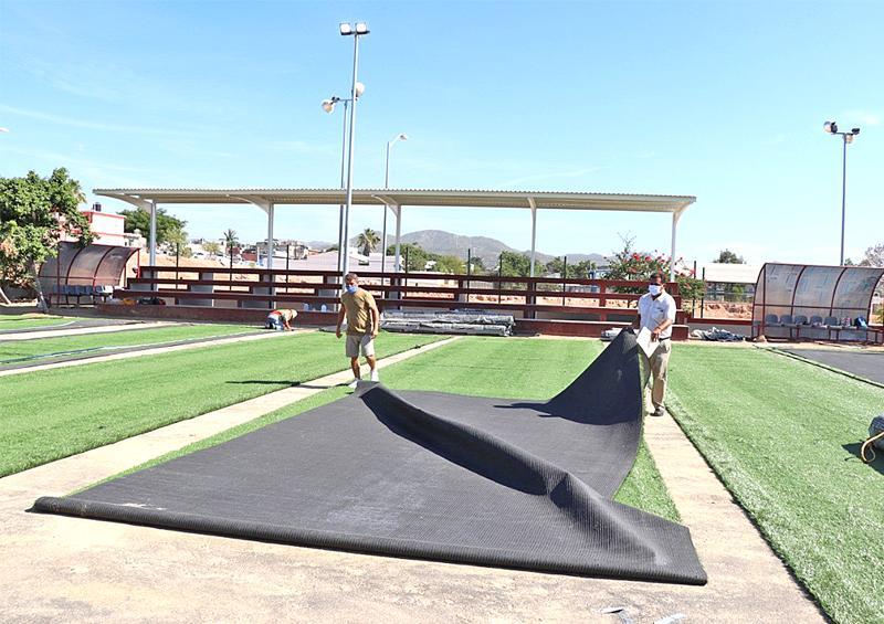 Más de 6 mdp en rehabilitación de parques en Lomas del Sol