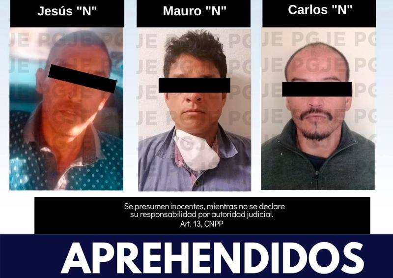 3 personas aprehendidas en La Paz y Mulegé por la PGJE