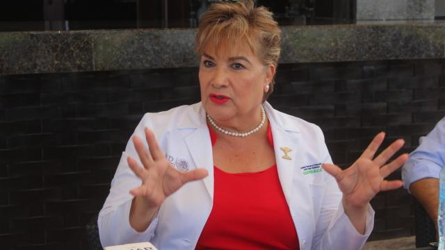 Blanca Pulido, comisionada estatal de la COEPRIS BCS