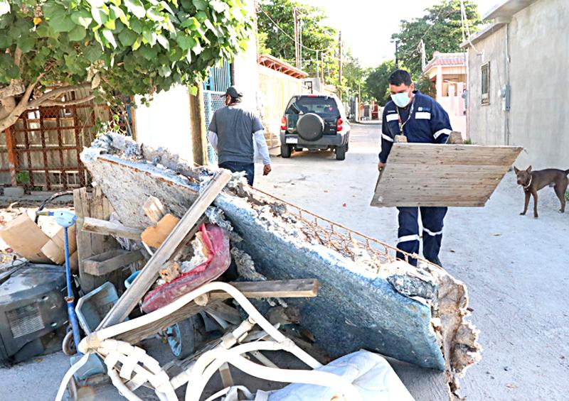 Implementan jornada de descacharrización en La Paz