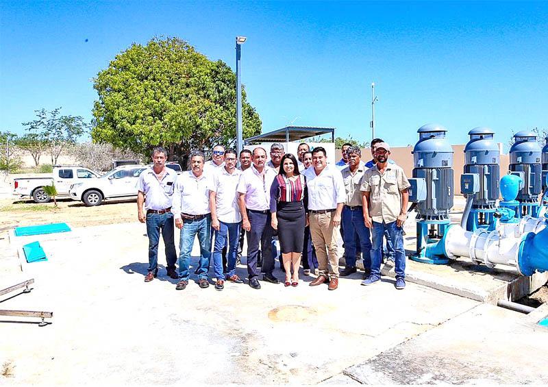Importantes proyectos para resolver escasez de agua: Alcaldesa