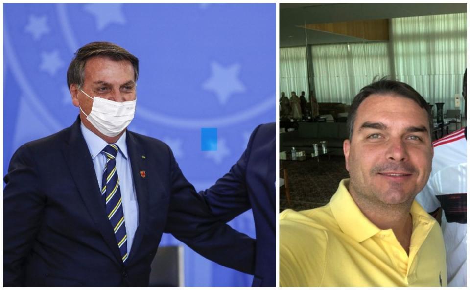 Flavio Bolsonaro hijo de Jair Bolsonaro