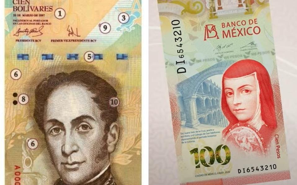 Billete nuevo de 100 pesos
